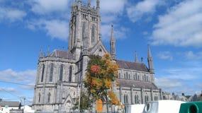 Church in kilkenny royalty free stock image