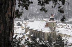 Black church in brasov Stock Photography