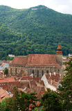The Black Church in Brasov Stock Image