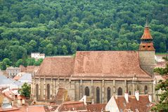 The black church from Brasov Royalty Free Stock Images