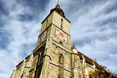 The Black Church from Brasov Royalty Free Stock Photo