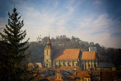 the black church, brasov Stock Photography