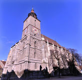 The Black Church, Brasov, Romania stock photography