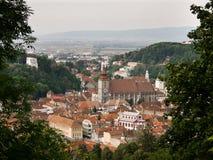 Black Church in Brasov-Romania stock image