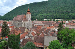 The Black church, Brasov, Romania Stock Image