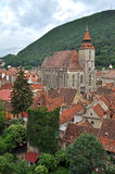 The Black church, Brasov, Romania Stock Photo