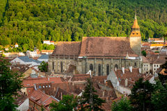 Black Church Brasov. At sunset Royalty Free Stock Photo