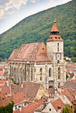 Black Church in Brasov, Transylvania, Romania. Royalty Free Stock Images