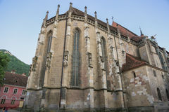 Black church in Brasov. Royalty Free Stock Photography
