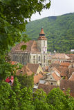 Black church in brasov, transylvania, romania Royalty Free Stock Image