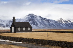 Black Church of Budir Stock Photo