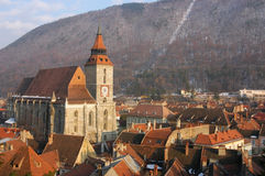 Black church cathedral, Brasov, Transylvania Stock Image