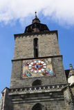 Black Church Tower. Brasov's - Romania Black Church Tower royalty free stock image