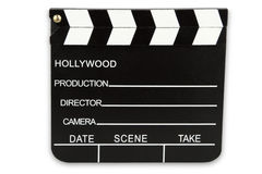 Black Cinema Clipboard Royalty Free Stock Images