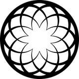 Black circle Stock Image