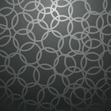Black circle pattern Stock Photography