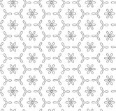 COPTER SEAMLESS VECTOR PATTERN. GRAY SMOOTH CROSS GEOMETRIC BACKGROUND Royalty Free Stock Images