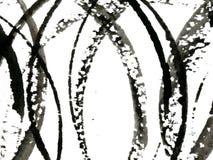 Black circles Stock Image