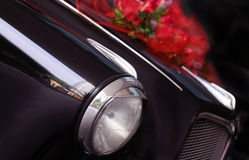 Black classic car Royalty Free Stock Images