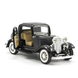 Black Classic Car Royalty Free Stock Photography