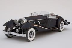 Black classic car Stock Image