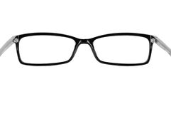 Black classic glasses Stock Photos