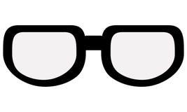 black classic glasses Royalty Free Stock Photo