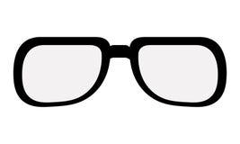 black classic glasses Royalty Free Stock Photos