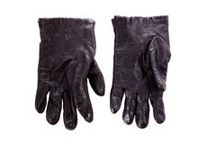 Black classic glove isolated Royalty Free Stock Image