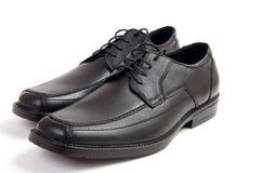 Black classic shoes Stock Photo