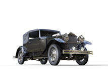 Black classic vintage car Royalty Free Stock Photos