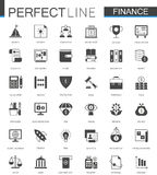 Black classic web Finance money web icons set. Black classic web Finance money web icons set Stock Images
