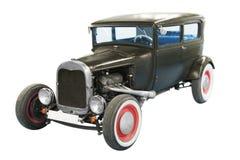 Black classical vintage  automobile Stock Photo