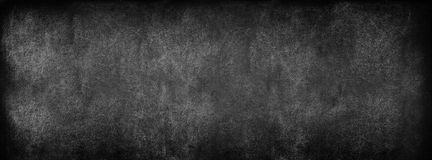 Black Classroom Blackboard Background. School Vintage Texture. Black Classroom Blackboard Background. Chalk Erased School Chalkboard Vintage Texture. Long format stock photos