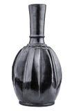 Black clay jug. Stock Photo