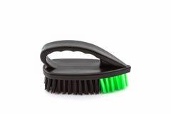 Black cleaning plastic brush. Stock Images