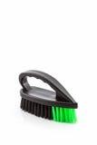 Black cleaning plastic brush . Royalty Free Stock Image