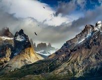 Black cliffs royalty free stock image