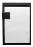 Black clipboard Royalty Free Stock Photography