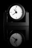 Black clock Royalty Free Stock Photo