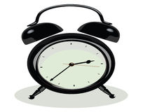 Black Clock Royalty Free Stock Photos