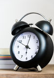 Black clock Stock Image