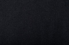 Black cloth. The texture of black fabric. Background Royalty Free Stock Photos