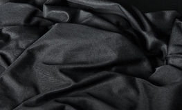 Black Cloth Background Stock Images