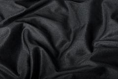 Black Cloth Background Royalty Free Stock Photography