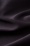 Black cloth background stock photo