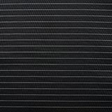 Black cloth material with white stripes Royalty Free Stock Images
