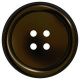Black Clothes Button Royalty Free Stock Image