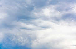 Black cloud Stock Photography