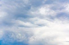 Black cloud Stock Photography